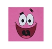 Patrick Star Face Hot Pink T-Shirt