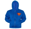 Superman Symbol Zip-Up Hoodie