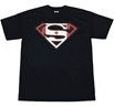 Superman Canadian Shield Adult T-Shirt