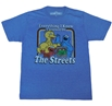 Sesame Street Everything I Know Adult T-Shirt