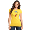 Big Bird Face Junior Women's T-Shirt