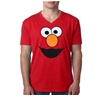 Sesame Street Elmo Face V-Neck T-Shirt