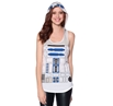 Star Wars R2-D2 Costume Hooded Tank