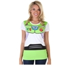 Toy Story Buzz Lightyear Costume Junior Women's  T-Shirt