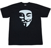 Vendetta White Mask T-Shirt