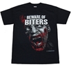 Walking Dead Beware of Biters T-Shirt