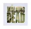 Walking Dead Poster In Logo T-Shirt